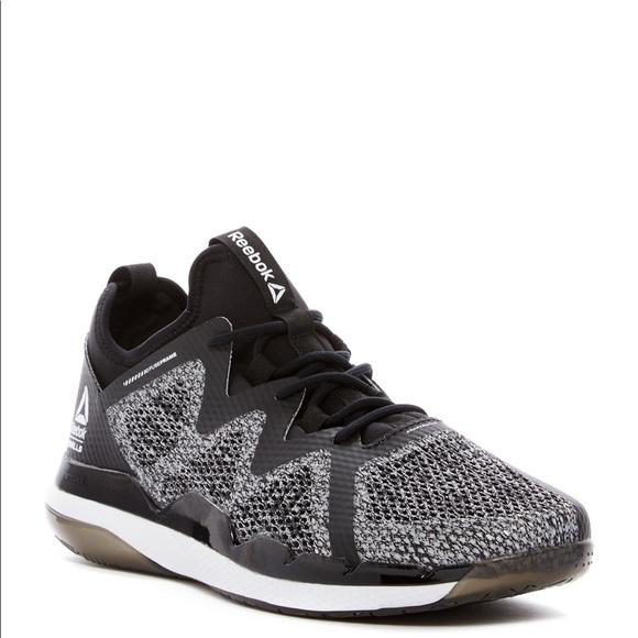 best website f0ef9 bcf25 Reebok Ultra 4.0 LM Studio Fitness Black Sneakers NWT